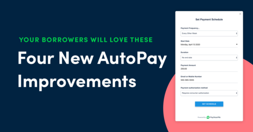 automatic bill pay improvements