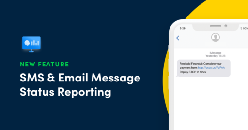 SMS email reporting