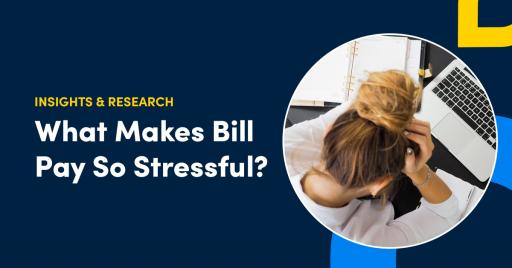 bill pay stressful