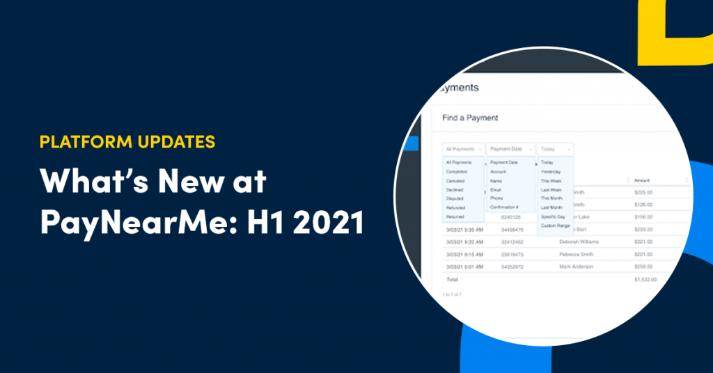 whats new at paynearme